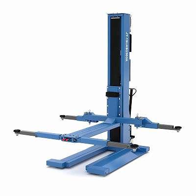 GRATIS LIEFERUNG JAN Trading 1 Säulen Hebebühne 2,5t mit automatischer Entriegelung, JT-1SLHB2500A Neues Modell