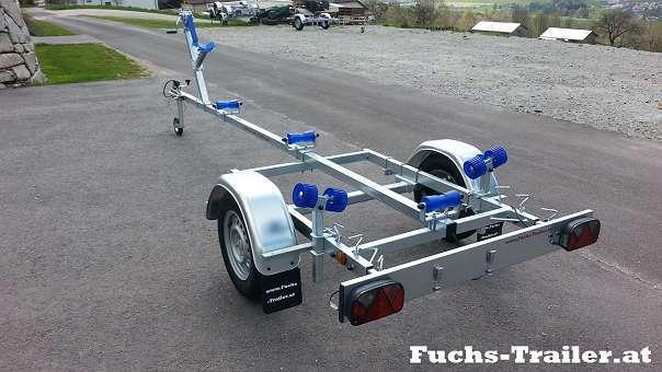 AKTION NEUER 500 KG Bootstrailer Bootsanhänger für bis 4,5 Meter ...
