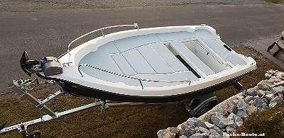 420 Deluxe Angelboot Fischerboot Motorboot Badeboot Familienboot 420 Deluxe Fuchs Boot