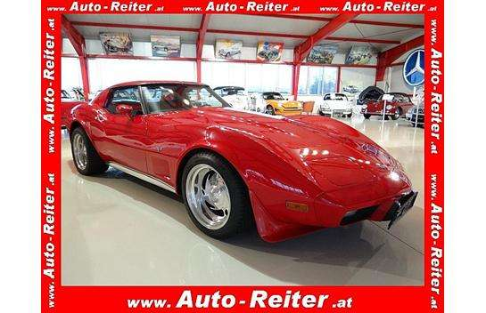 chevrolet corvette c3 stingray cabrio roadster 1977 km. Black Bedroom Furniture Sets. Home Design Ideas