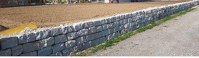 Sandstein MAUERSTEIN gespalten 40 x 20 x 20 cm Garten Stein Mauer Naturstein