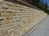 Sandstein Verblender gesägt / gebrochen 30 x 14 cm, 20 x 10 cm & 15 x 25 cm ab ? 40 / m²