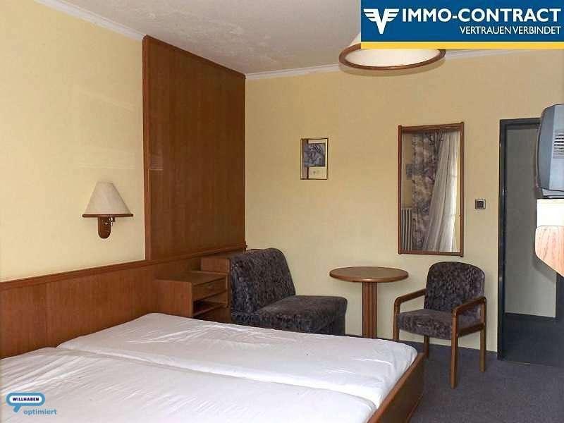 eines der Hotelzimmer