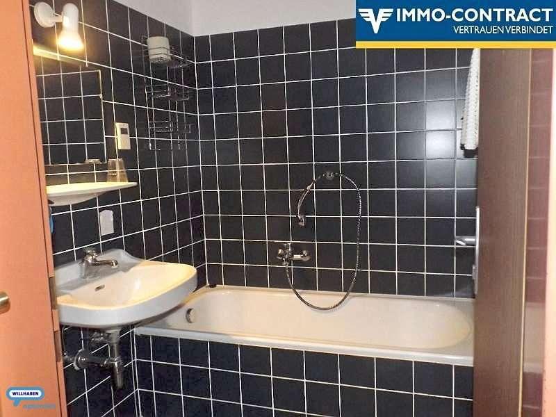 das Bad zum Hotelzimmer