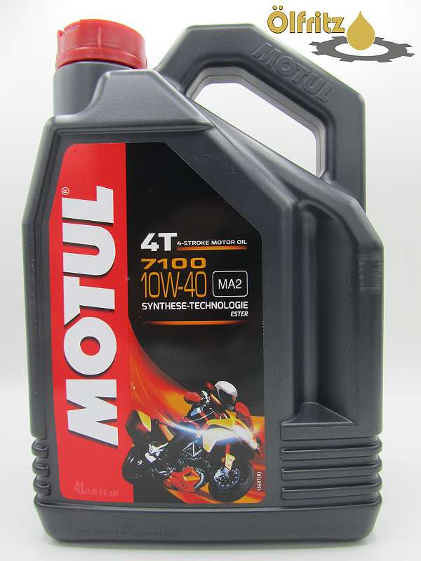 Motul 7100 4T 10W-40 Motorradöl 4l Kanne