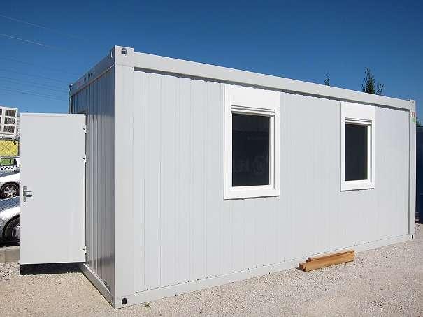 Bild 1 von 7 - Grey Büro- Wohncontainer 20'