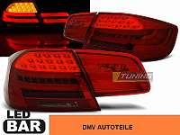 BMW E92 09.06-03.10 ROT SCHWARZ LED HECKLEUCHTEN FACELIFT LOOK