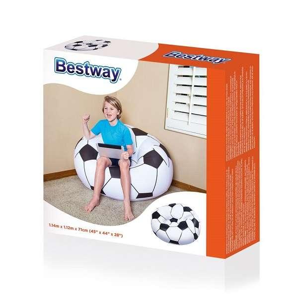 BESTWAY FUSSBALLSESSEL SOCCER BALL (L x B x H 114 x 112 x 71 cm) bei Sporttime24, Versand Österreich ¤ 4,90