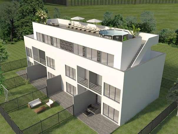 85m² dachterrasse und 78m² wohnfläche - letzte penthouse wohnung, Wohnzimmer dekoo