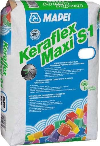 MAPEI KERAFLEX MAXI S1 GRAU - FLEXKLEBERMÖRTEL 25KG SACK