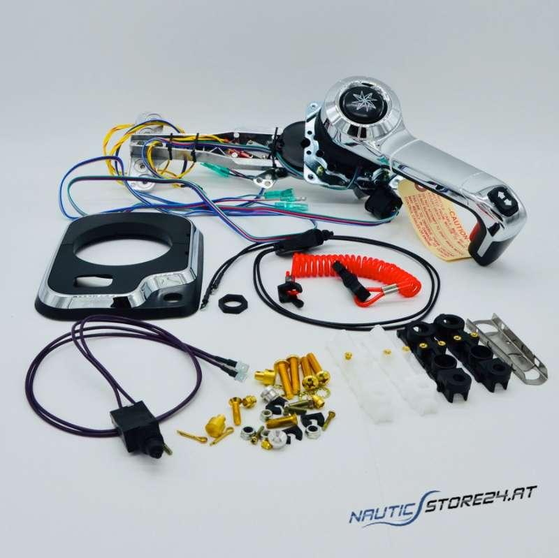SeaStar Teleflex Extreme Einhebelbedienung(Schaltbox) mit Trim und Tilt, Seitenmontage, universal