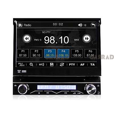 CARRAD CR2088M Autoradio Universal 1Din 7