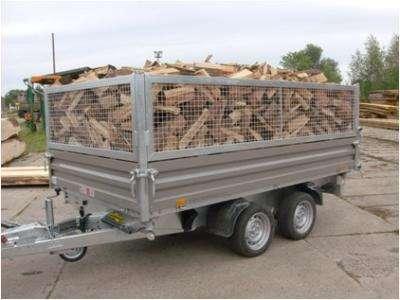 Brennholz Buche in Schüttraummeter halbtrocken