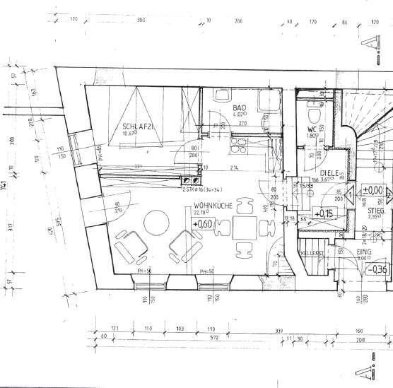 eigentumswohnung im zentrum mit garten ab dezember beziehbar 59 m 8121. Black Bedroom Furniture Sets. Home Design Ideas