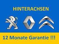 Hinterachse Peugeot (106 206 306 Partner ) Citroen Berlingo Xsara, Xsara Picasso Saxo Ax Zx Renault Kangoo Megane Scenic Laguna 12 Monate Garantie