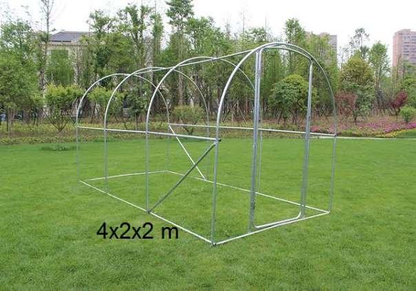 Hühnerhaus Rahmen mit Tür ideal für die Erstellung einer Voliere