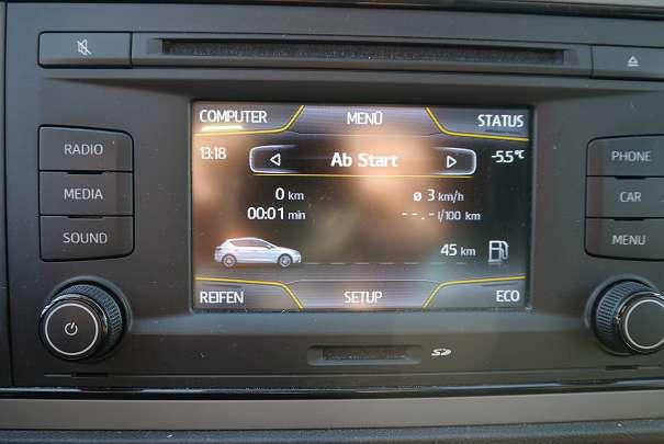 Seat Radio 5F0035869