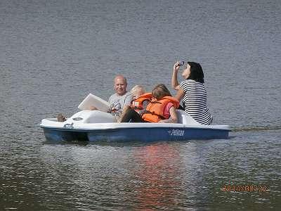 Motorboot Pedalboot Tretboot Fischerboot Monaco - NEU - 24 Monate Garantie
