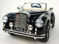 12V Mercedes - Benz 300S Oldtimer Kinderelektroauto