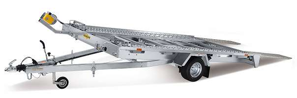 FTK 153520 Fahrzeugtransporter kippbar Einachs