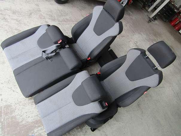 INNENAUSSTATTUNG SEAT Leon 2008 schwarz komplett