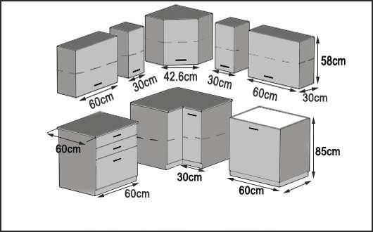 neu eckk che in der farbe akazie 399 1030 wien willhaben. Black Bedroom Furniture Sets. Home Design Ideas