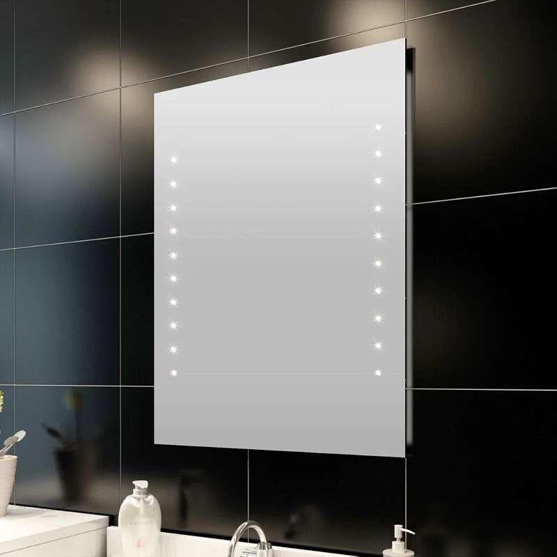 Neu Vidaxl Badspiegel Mit Led Leuchten 50 60 Cm 38 99 5928