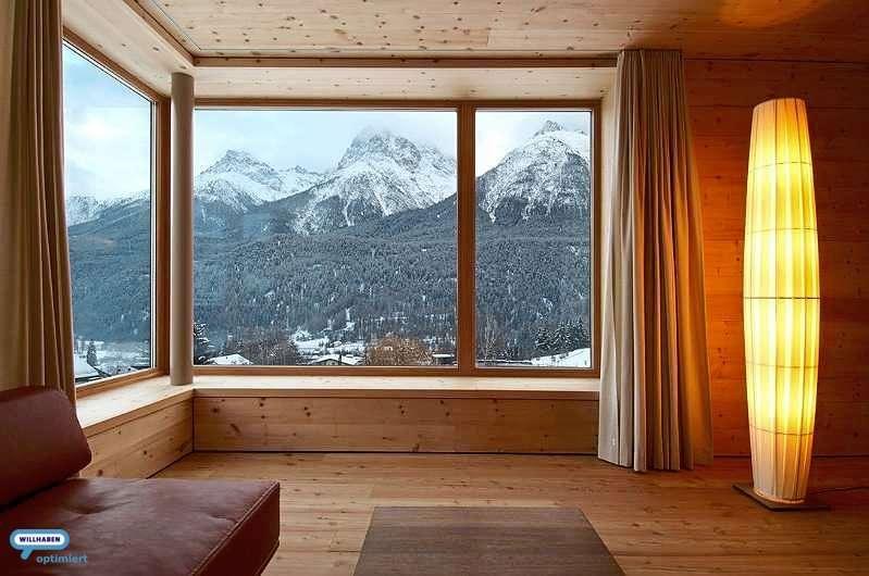 Wohnraum Berge Beispiel