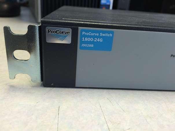 Ethernet Network Switch HP ProCurve 1800-24G J9028B - 24 Port 10/100/1000 mk2 zz