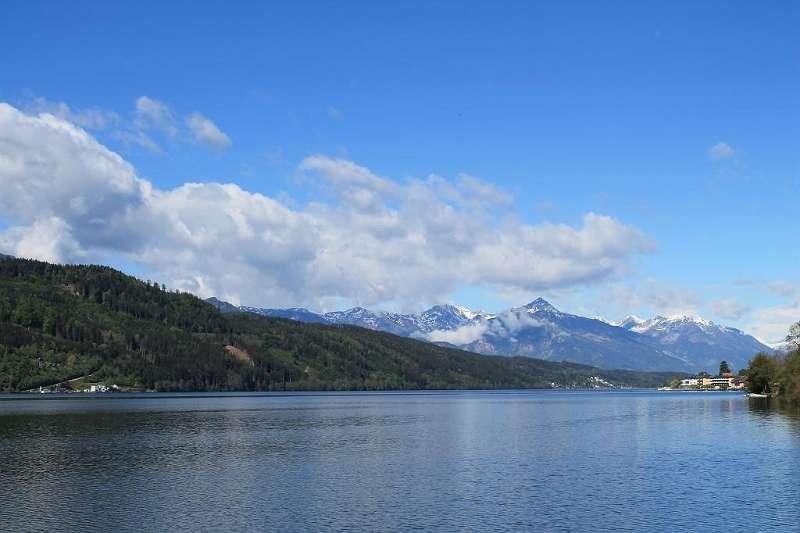 Panoramablick am Seezugang