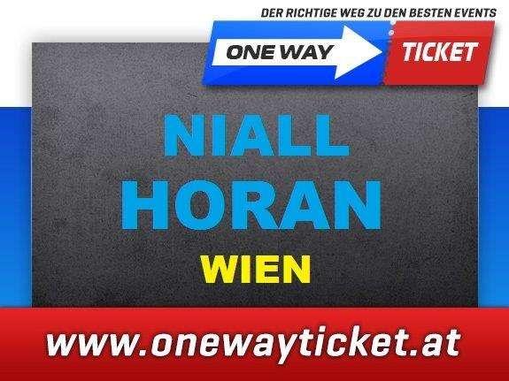 Niall Horan*Wien*Sitzplätze 1. Reihe*Stehplätze*04.05.2018