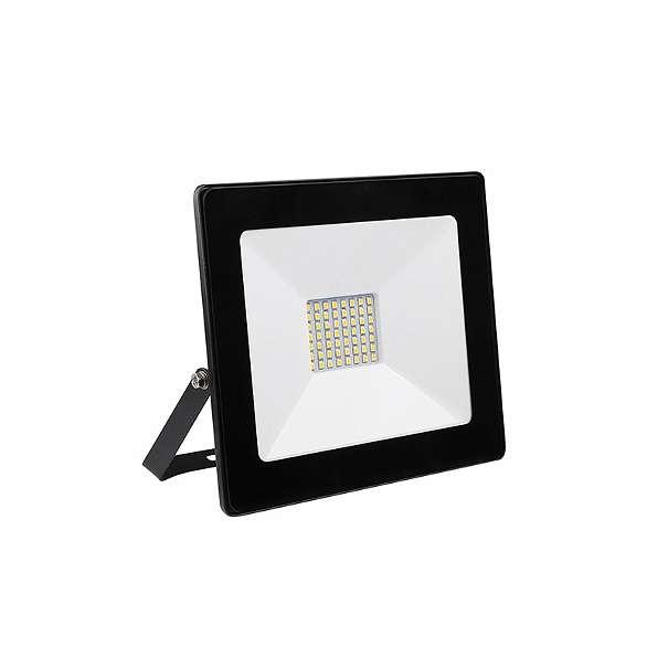 30W LED Fluter SMD IP65 Schwarz DECO Kaltweiß GL5205 - Wien - Technische Daten: WASSERDICHT IP65 Art. Nr.: GL5205 Leistung: 30W FLUX: 3000lm Standardleistung: 275W Lichtfarbe: Kaltweiß Lebensdauer: 30000h Farbtemperatur: 6000K Abstrahlwinkel: 120° Frequenz: 50-60Hz Material: Aluminium Körperfarbe: Schwarz  - Wien