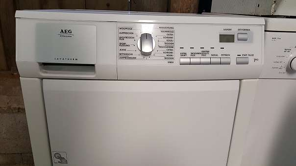 Aeg wärmepumpen wäsche trockner wie neu mit monate garantie