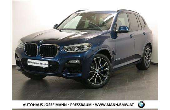 bmw x3 xdrive30d m sport aut suv gel ndewagen 2017 km willhaben. Black Bedroom Furniture Sets. Home Design Ideas