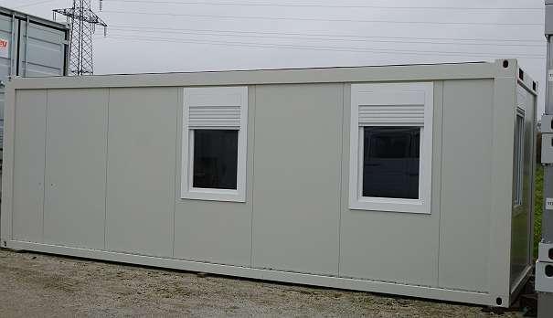 24 39 wohncontainer mit bad 7 3 x 2 44 m 3104. Black Bedroom Furniture Sets. Home Design Ideas