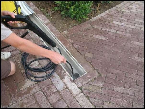 Vorbild Reinigung Entwässerung