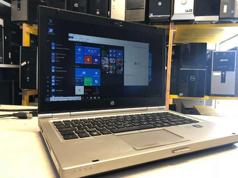 "HP SSD EliteBook i5-3320M 8470p - 14,1"" Webcam 4GB RAM Win 10 Prof 120GB Samsung HDD nb5 mk4 zz 012"