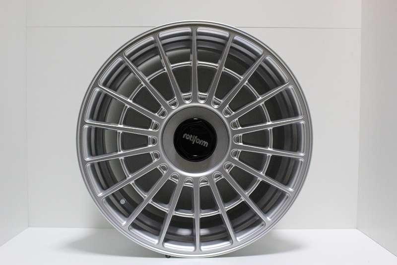 Rotiform LAS-R Silber 8,5x18 LK5x112 Audi VW Seat Skoda Mercedes