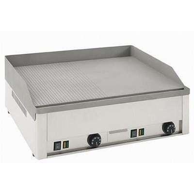 Elektro Grillplatte (65 X 48 Cm, Glatt Und Gerillt) 400V