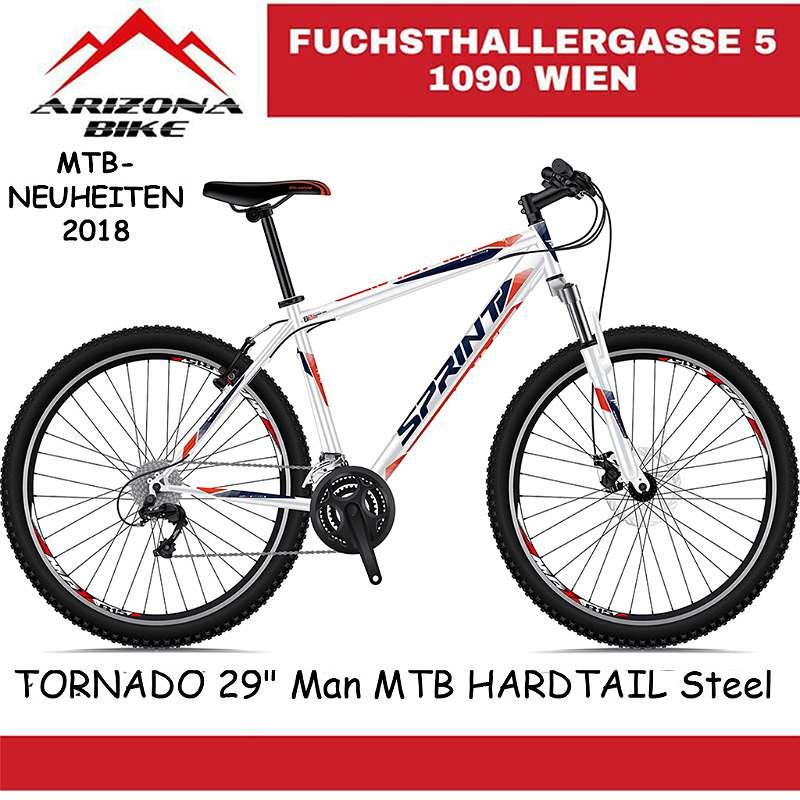 NEUE! AKTION TORNADO 29 Zoll Mountainbike, Hardtail Super Fahrrad, EU PRODUKT! in der EU HERGESTELLT!
