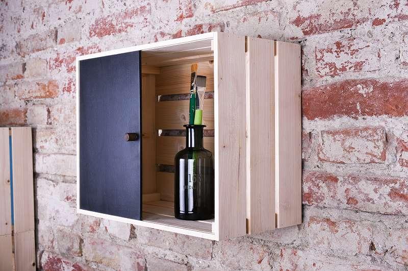 Weinkiste Holzkiste Verschließbar