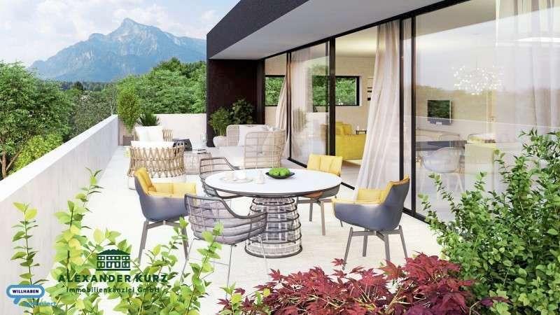 Bild 1 von 4 - Neubauwohnungen in Morzg - Immobilienkanzlei Alexander Kurz