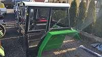 Universalkabine Traktorkabine Nr. 2a RAL6018 Kabinen Schlepperkabine bis ca. 70PS