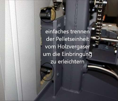 Pellets-Holzkombikessel DUO Turbo 18kW