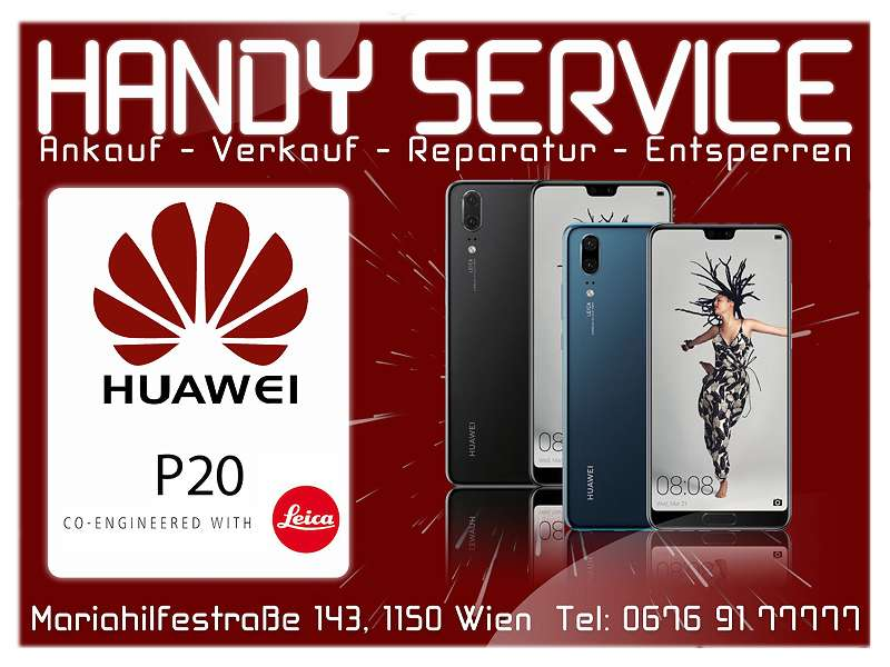 """Huawei P20 4GB RAM 128GB Schwarz DUAL SIM """"NAGELNEU"""" OFFEN FÜR ALLE NETZE HERSTELLER GARANTIE."""