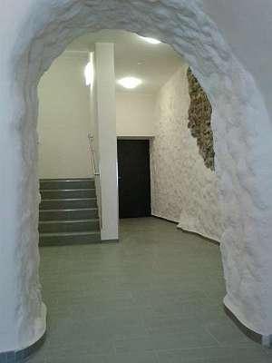 Aufw�ndig restauriererter Stiegenaufgang