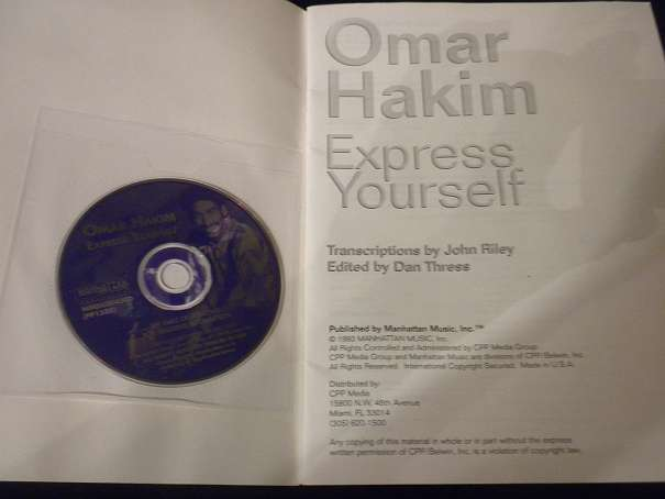 Omar Hakim - Express Yourself