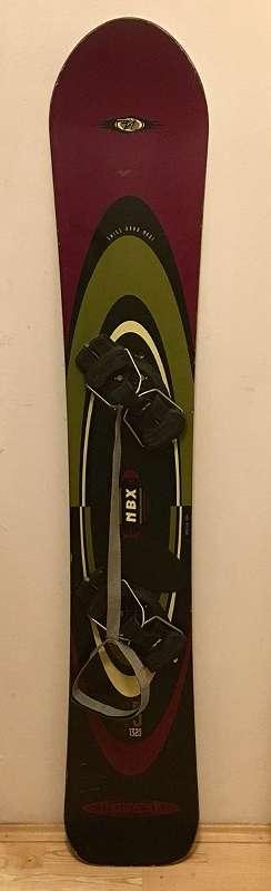 Nidecker Snowboard NBC in 163 mit Bindung