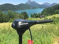 MotorGuide R3 55 Digital Elektromotor für Fischerboot Bootsmotor für Ruderboot Flautenschieber für Segelboot 12 Volt stufenlose Geschwindigkeitsregelung