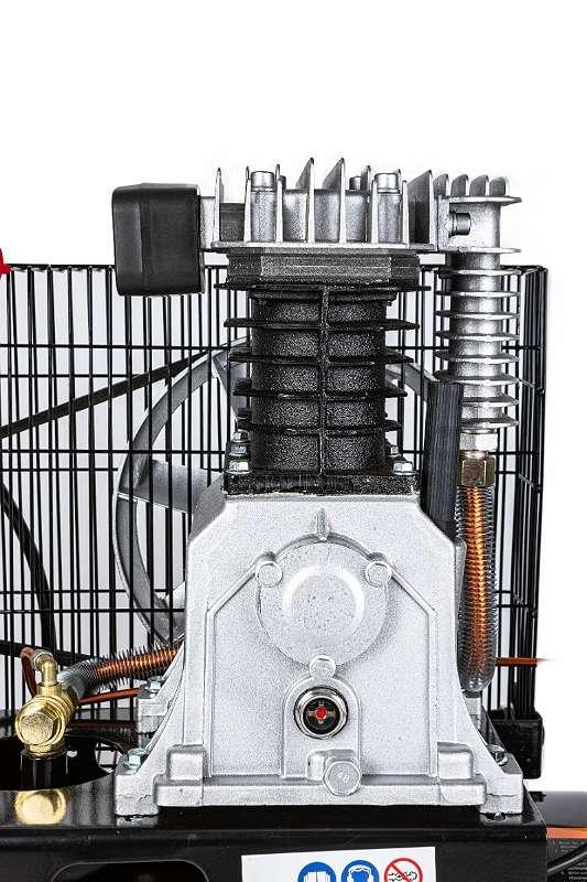 AKTION Druckluft Kompressor 100L Luftkompressor 4 PS   Druckluftkompressor, Luftdruckkompressor, Luftkompressor, Druckluft, Luftdruckkompressor, Luftdruck, Kompressor, 2 Zylinder, Starkstrom, 100L